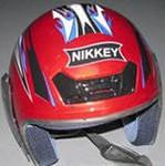 Шлем защитный Nikkey 202 (мотошлем для скутера,  мотоцикла, квадрацикла)