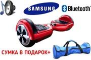 Гироскутер (мини-сигвей)! НОВЫЙ! Батарея Samsung! Музыкальный!