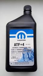 Масло Mopar ATF +4 (Мопар АТФ +4).