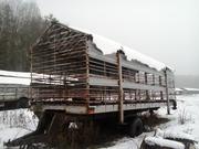 Продам тракторный прицеп-контейрер на 40 ульи пчел 650 дол
