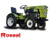 Трактор минитрактор Rossel 184D green